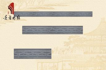 唐语边框砖雕回纹线TY-S022-1