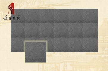 古建砖雕云纹仿古青砖室内外地面装修|TY-QD241