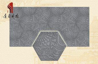砖雕厂仿古砖直销墙面砖雕装修|旋花TY-QD261