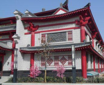 北京别墅古典中式砖雕风格装修