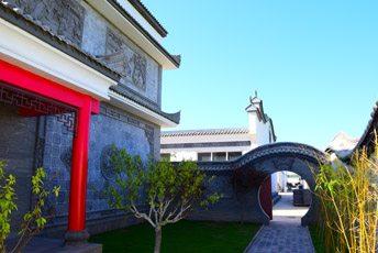 唐语砖雕园林装饰砖雕实景案例